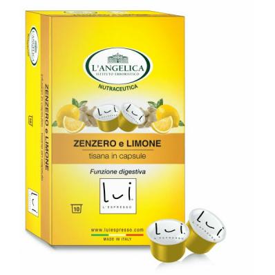 Lui L'espresso Zenzero Limone