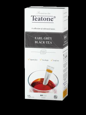 Чай Teatone Черный с бергамотом