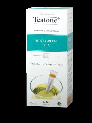 Чай Teatone Зеленый с мятой
