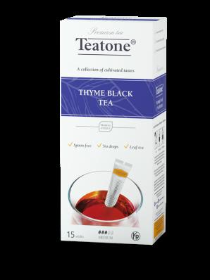 Чай Teatone Черный с чабрецом