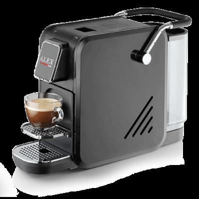 Кофемашина Lui L'espresso Alex Черная