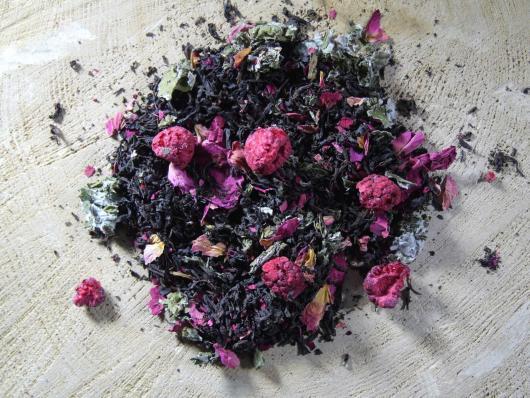Чай листовой Черный Ягода малина