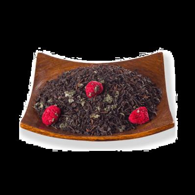Чай листовой Черный Малина со сливками