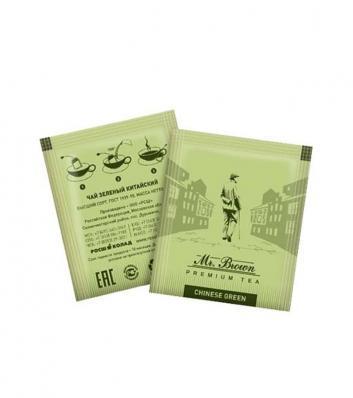 Чай Mr.Broun Зеленый коробка (300шт)
