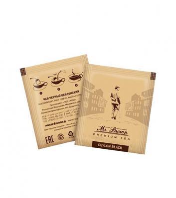 Чай Mr.Broun Черный коробка (300шт)