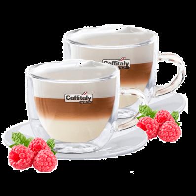 Кофейная пара Двойное стекло