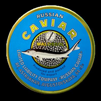 Икра осетровых рыб Руская Икра 100г.
