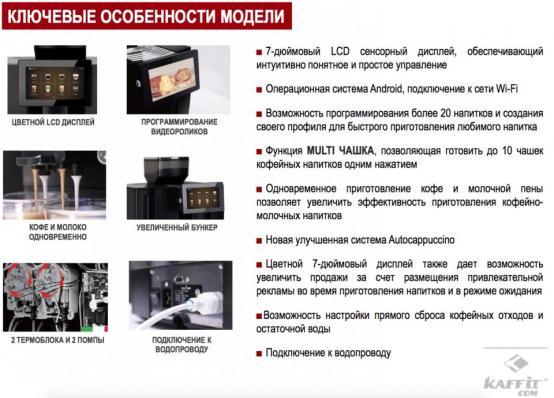 Кофемашина KAFFIT.com K95L